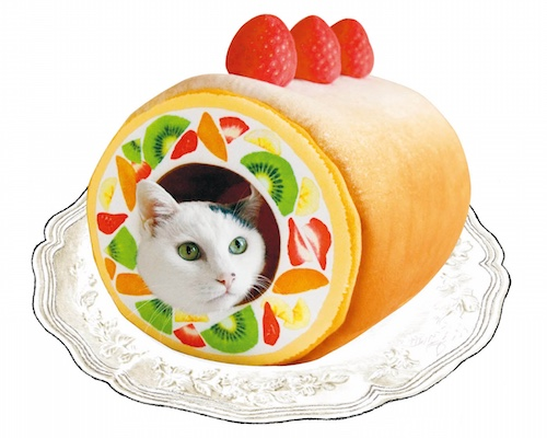 Nyanko Kitty Rollcake Tunnel for Cats a1a39bc46c56