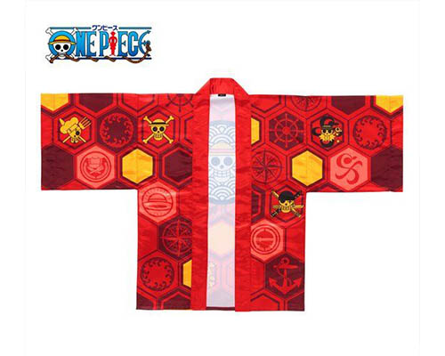 One Piece 20th Anniversary Monkey D. Luffy Happi Kimono Jacket