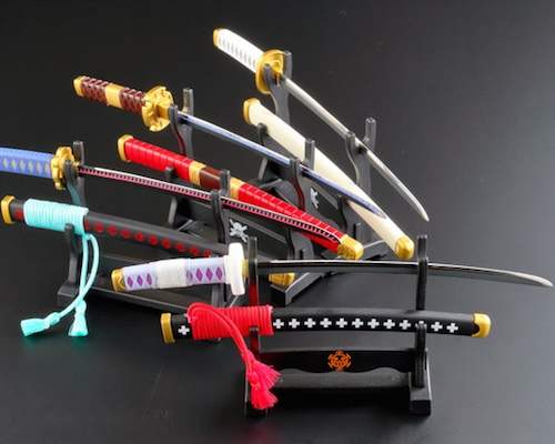 One Piece Character Sword Paper Knife
