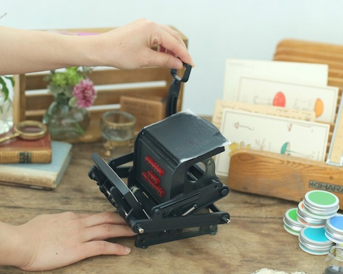 Otona no Kagaku Mini Letterpress Printing Press