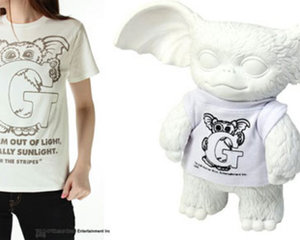 OVER THE STRiPES! Gizmo Vinyl Toy T-shirt Set