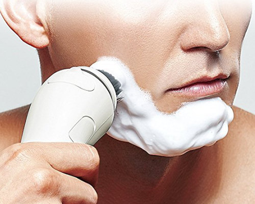 Panasonic Thick Foam Men's Facial Cleansing Shaving Brush
