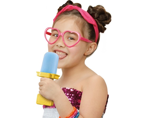 Perotto Ice Pop DJ Licking Music Toy