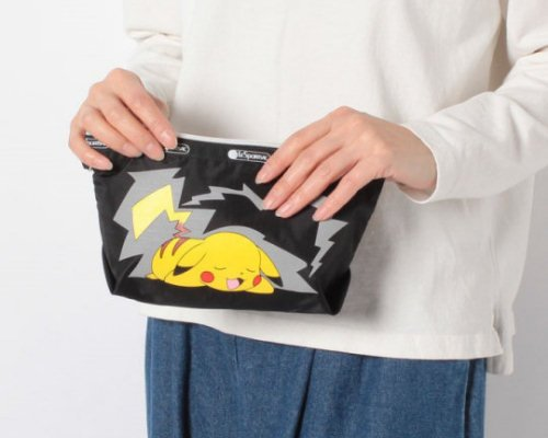 LeSportsac Pikachu Medium Sloan Cosmetics Bag