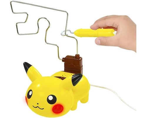 Pikachu Electric Shock Wire Loop Game