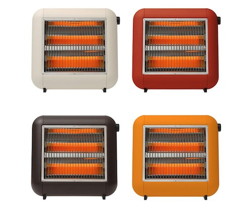 PlusMinusZero Infrared Electric Heater