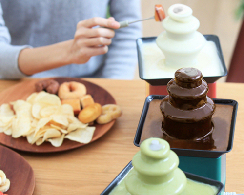 Prismate Chocolate Fondue Fountain Block Tower