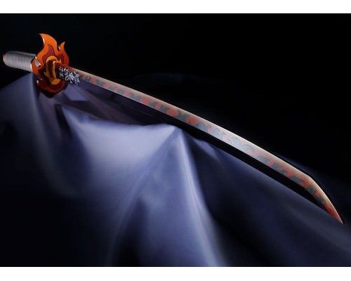 Proplica Kyojuro Rengoku Replica Demon Slayer Sword