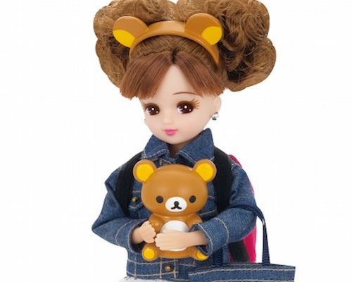 Rilakkuma and Licca-chan Going-out Style Doll