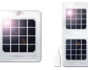 携帯型ソーラー発電機「eneloop portable solar」