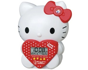 Seiko Hello Kitty Talking Alarm Clock JF377A