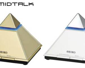 Pyramid Talk Clock