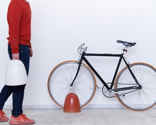 Shigaraki Pottery Designer Bicycle Stand
