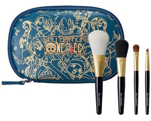 Shu Uemura One Piece Fearless Crew Premium Brush Set