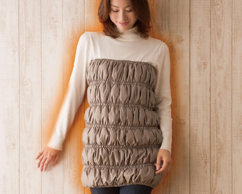 Soft Down Waist Body Warmer