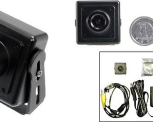 SPK vídeo 700CHBA cam mini áudio