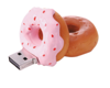 Frosted Donut 1 GB USB Memory Stick