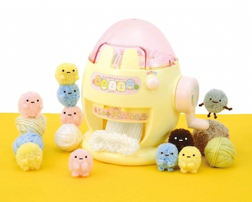 Sumikko Gurashi Amigurumi Knitting Machine