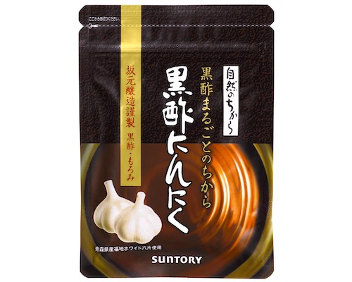 Suntory Black Vinegar Garlic