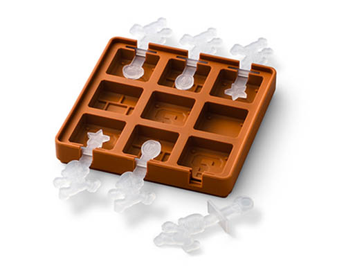 Super Mario Block Silicone Chocolate Cube Tray