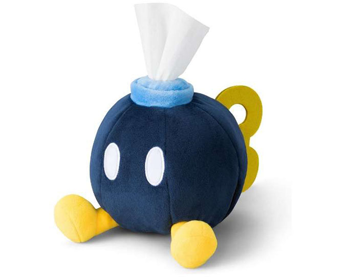Super Mario Bob-omb Tissue Holder