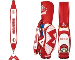 Super Mario Golf Caddy Bag