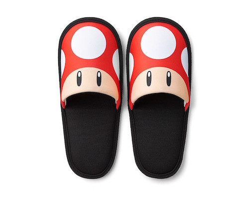 Super Mario Travel Slippers