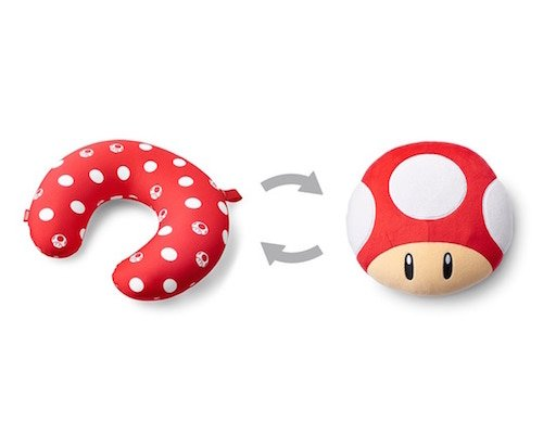 Super Mario Travel Neck Pillow Cushion