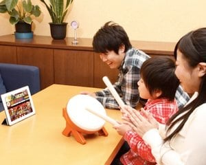 Taiko no Tatsujin Bluetooth Controller Drum Game