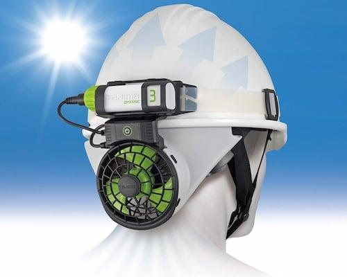 Tajima Seiryo Helmet Cooling Fan 2 | Japan Trend Shop
