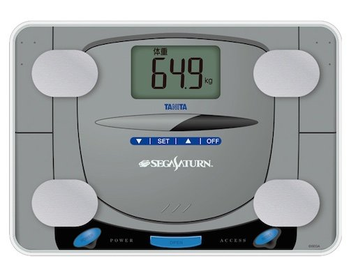 Sega Saturn Console Body Composition Monitor