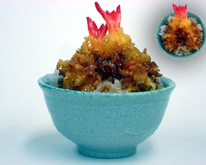 Miniature Tempura Shrimp Rice