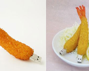 Fried Shrimp 1GB USB Memory