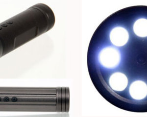 Infrared LED FlashLight Spy Video Camera