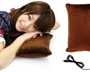 Thanko USB Warmer Heated Pillow