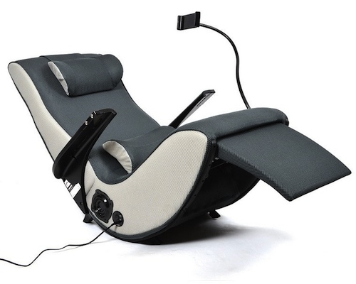 japan trend shop | zero gravity chair with iphone, ipad holder