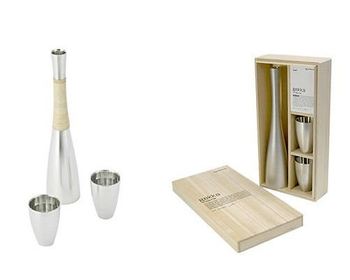gekka Tin Sake Set