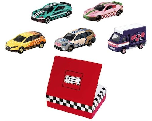 Tomica Demon Slayer: Kimetsu no Yaiba Cars Set 1 (Pack of 5)