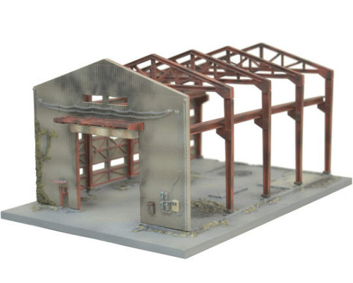 Tomytec Diocolle Combat Series Diorama DCM01 Destroyed Factory