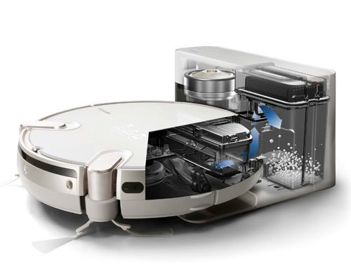 Toshiba Torneo Robo VC-RCX1 Self-Cleaning Robotic Cleaner