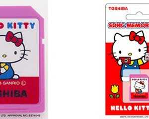 Toshiba Hello Kitty SDHC Memory Card