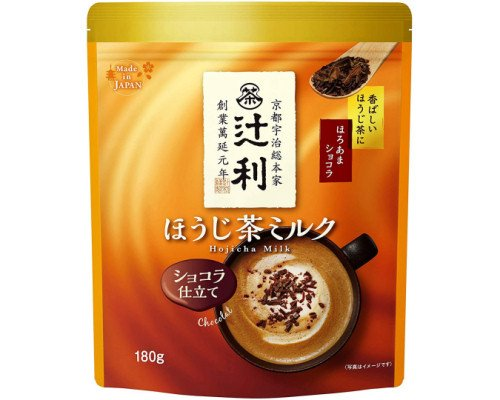 Tsujiri Hojicha Milk Chocolate Drink