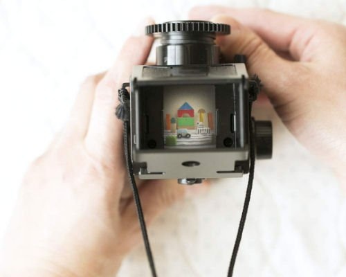 Otona no Kagaku Twin-Lens Reflex Camera Kit