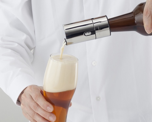 Ultrasonic Beer Foamer for Bottles