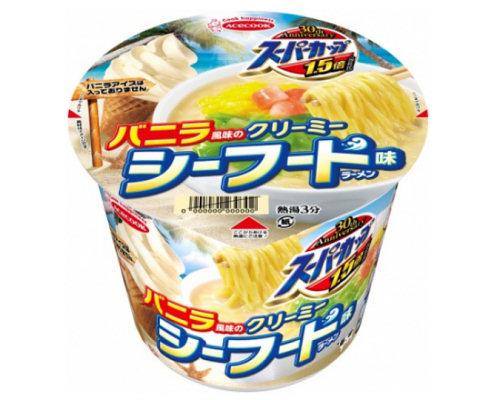 ebc5c8f009a Vanilla-flavor Creamy Seafood Instant Ramen (12 Pack)