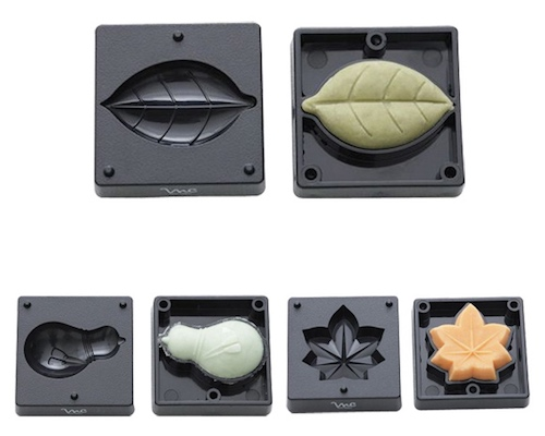 Wagashi Japanese Sweets Tree Leaf Molds