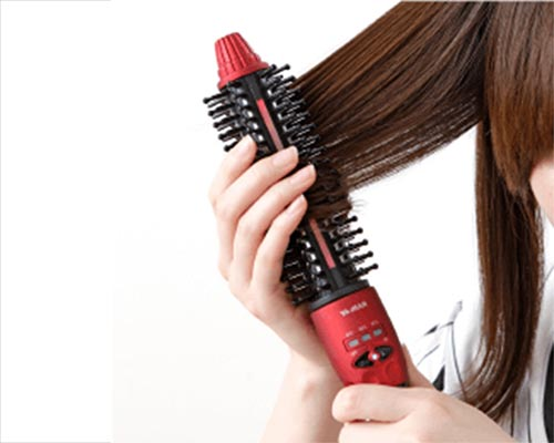 Ya-man Simultaneous Styling and Treatment Hair Iron