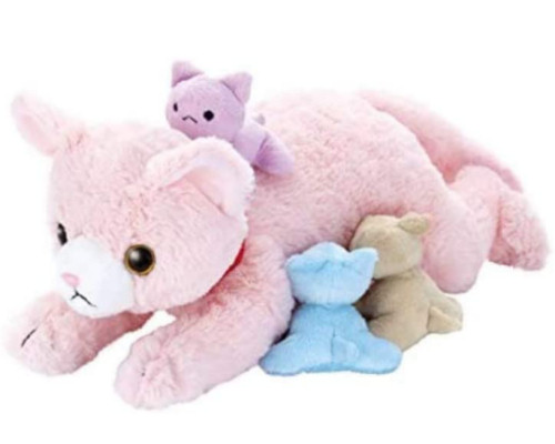Yume Pet Dream Cat and Litter Pink