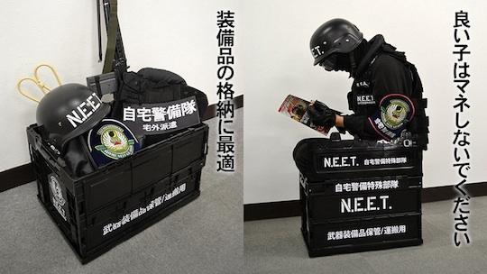 Home security guards neet barricade box japan trend shop for Garage neet