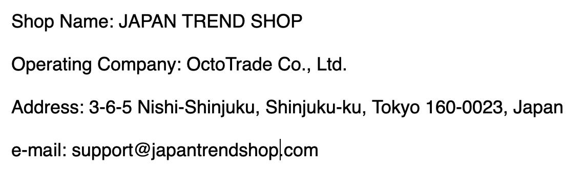 REPRESENTATIONS   JapanTrendShop